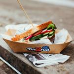 Dieseltoast, prekmurski sendvič z govedino, bučnim oljem in zelenjavo (foto: promocijsko gradivo)