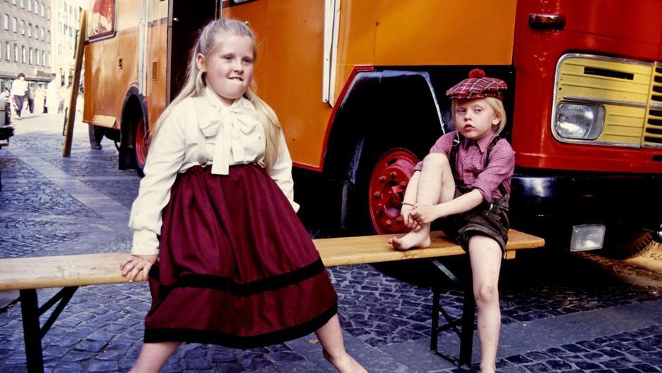 Maite in Angelo Kelly v Mainzu leta 1989 (foto: Profimedia)