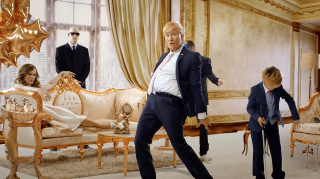 VIDEO: Klemen Slakonja blesti tudi kot Donald Trump! (foto: YouTube printscreen)