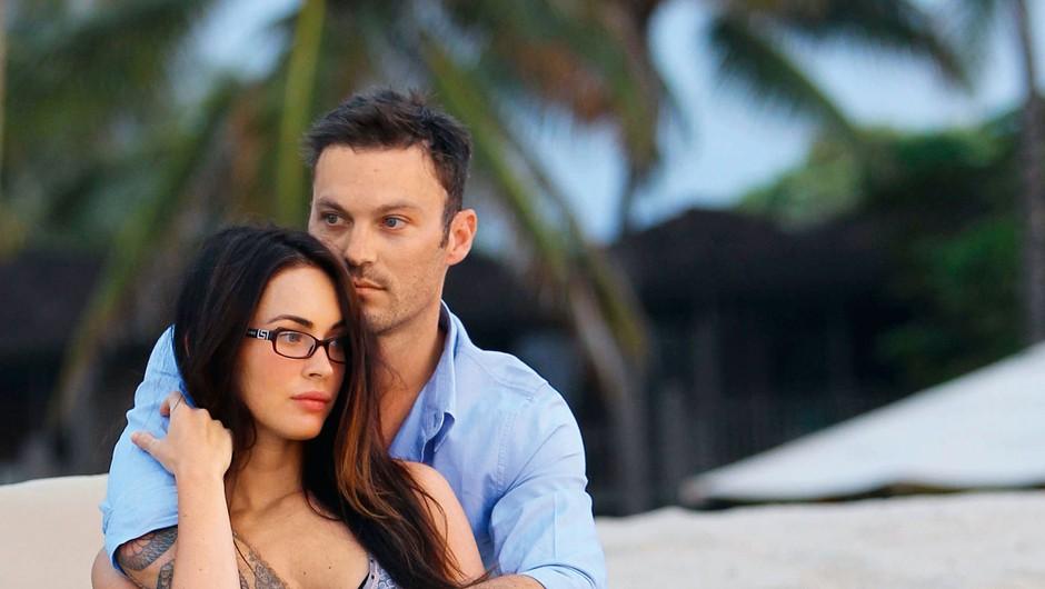 Megan in Brian se prepirata zaradi različnih pogledov na vzgojo otrok (foto: Profimedia)
