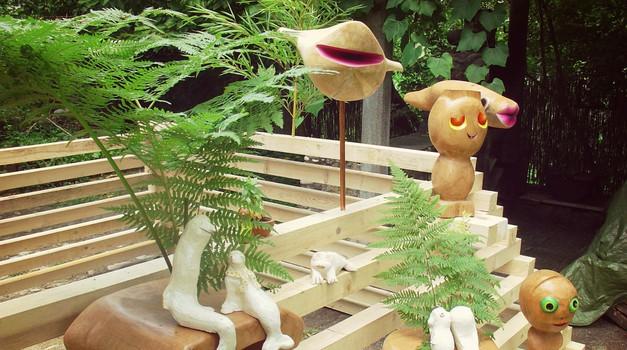 """V ljubljanski Mestni hiši te čakajo """"Viseči vrtovi"""" Urše Toman (foto: promocijsko gradivo)"""