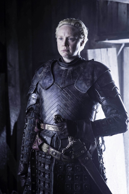 Neustrašno Brienne of Tarth fantastično upodablja ...