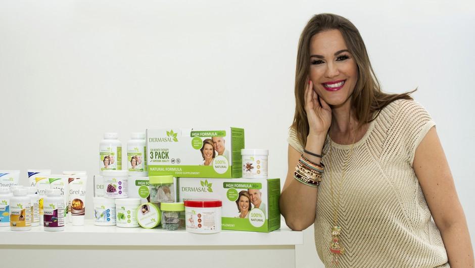 Za Rebekine lase, kožo in nohte, skrbi Lasosal, produkt priznane in profesionalne linije Dermasal. (foto: promocijsko gradivo)