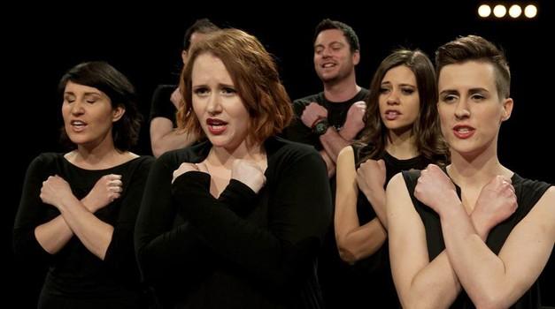 VIDEO: Perp. Jazzile navdušujejo z Adele in 360' videospotom (foto: Deki-Foto)