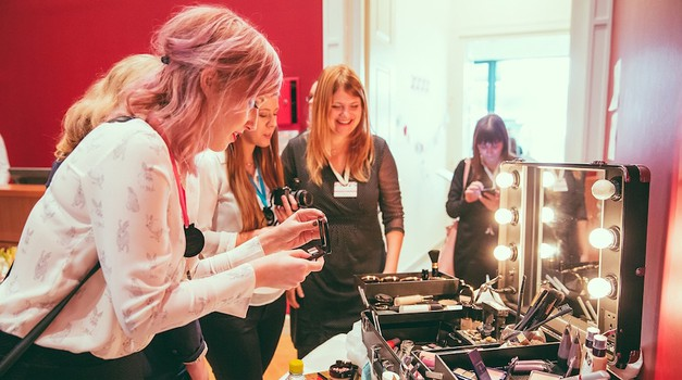 Blogerke na konferenci Beautiful Bloggers MeetUp 2015 (foto: Marko Dellbelo Ocepek)
