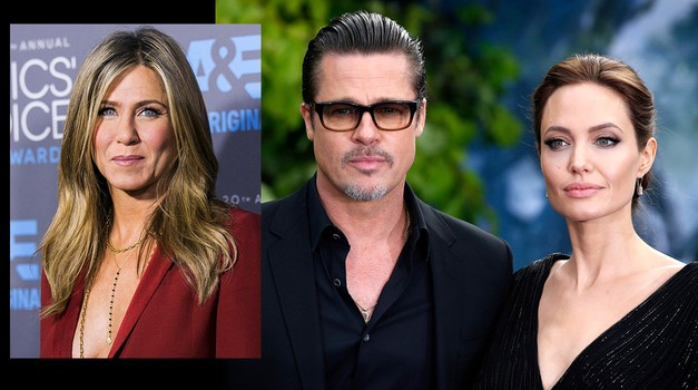 Brad Pitt naj bi skrivaj klical Jennifer Aniston! (foto: Profimedia)