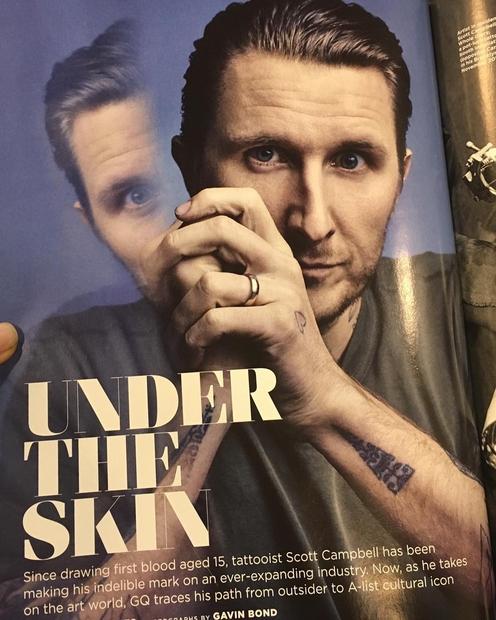 Kaj je lahko bolje od tega, da ti tetovažo ustvari svetovno znani umetnik tatujev Scott Campbell? On ti bo vendar …
