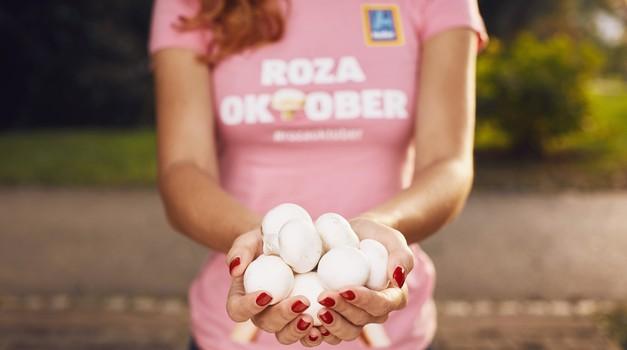 Roza oktober: S šampinjoni proti raku dojk (foto: promocijsko gradivo)