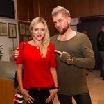 Prišla sta tudi Katarina Čas in Klemen Bunderla. (foto: Mare Vavpotič in Miro Majcen)