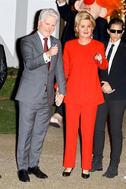 Zakonca Hillary in Bill Clinton, v katera sta se preoblekla (ne boš verjela) Katy Perry in Orlando Bloom! 32-letna pevka …