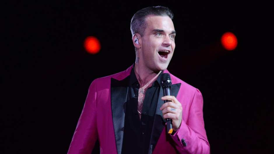 Robbie Williams bo v skopu turneje 2017 nastopil čisto blizu nas! (foto: Profimedia)