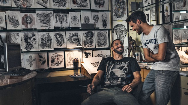 """""""To so tetovaže, o katerih se ne razmišlja in ki jih kasneje obžalujejo"""" (foto: Mark Kucler)"""