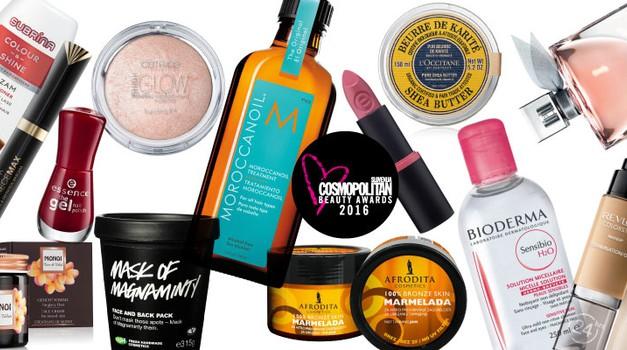 Cosmopolitan Beauty Awards 2016: Razkrivamo zmagovalce!