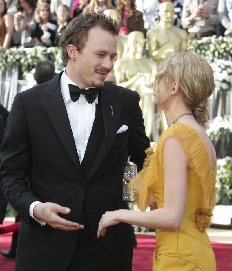 Heath Ledger in Michelle Williams