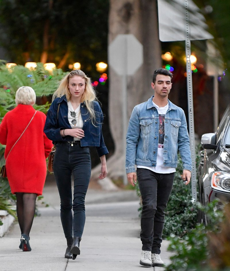 Joe Jonas in Sophie Turner