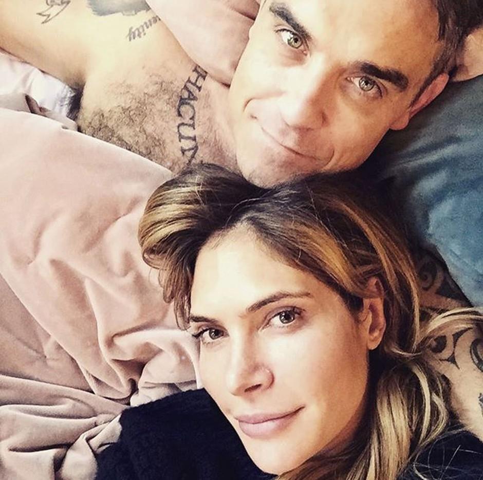 Uf! Preveri, kaj je o seksu z Robbiejem Williamsom razkrila Ayda Field! (foto: Profimedia)