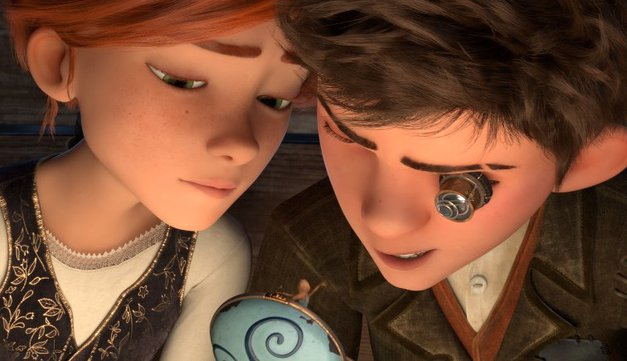 VIDEO: So ti všeč risanke? V kino prihajata prikupna Balerina in Viktor (foto: BLITZ Film)