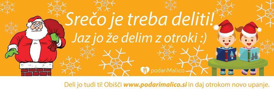 Dobrodelni projekt podariMalico že vedno živi, pomagaš lahko tudi ti (foto: promocijsko gradivo/podariMalico)