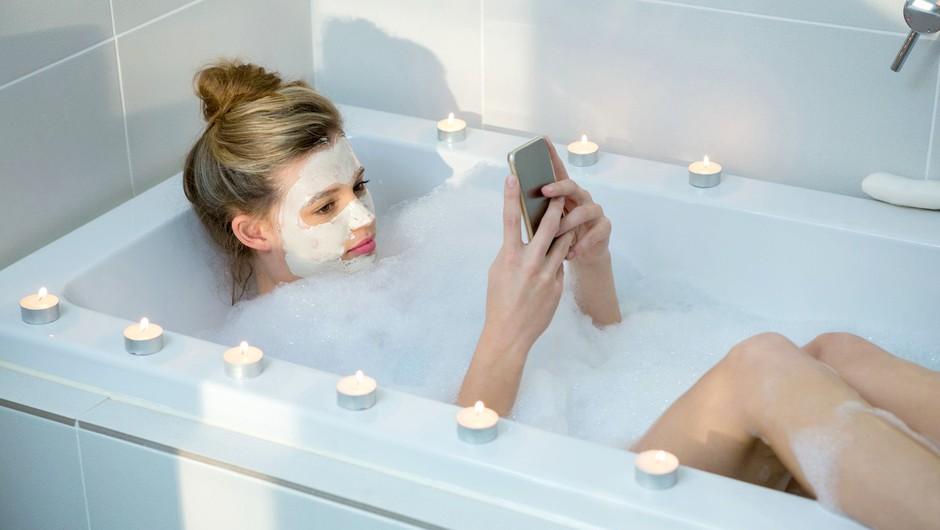 Poglej, kaj se zgodi, če si 8 tednov vsak dan pripravljaš vročo kopel! (foto: Profimedia)