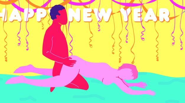 """5 """"srečno 2018"""" seks položajev za vrhunski začetek novega leta"""