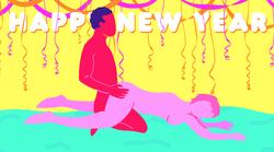 """5 """"srečno-2017"""" seks položajev za vrhuski začetek novega leta"""