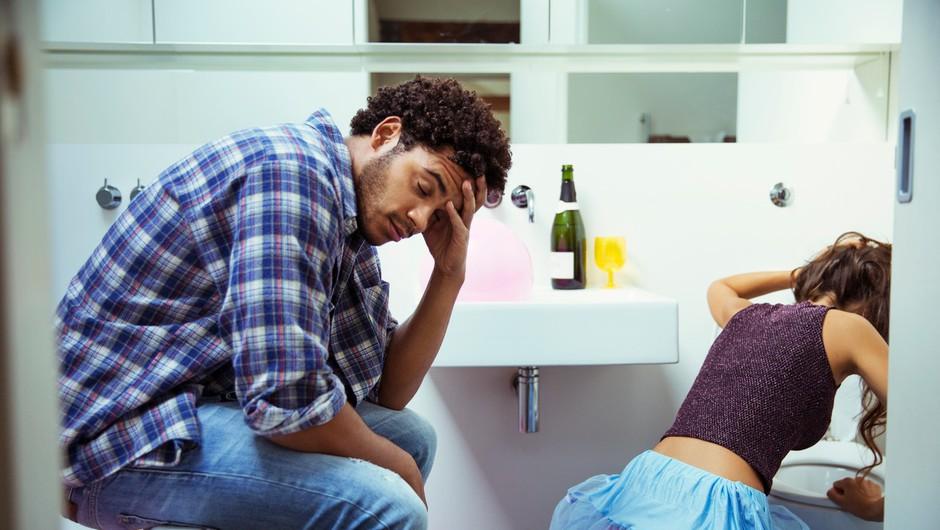 Ti znaki kažejo, da je ALKOHOL za tvoje telo še posebej ŠKODLJIV! (foto: Profimedia)