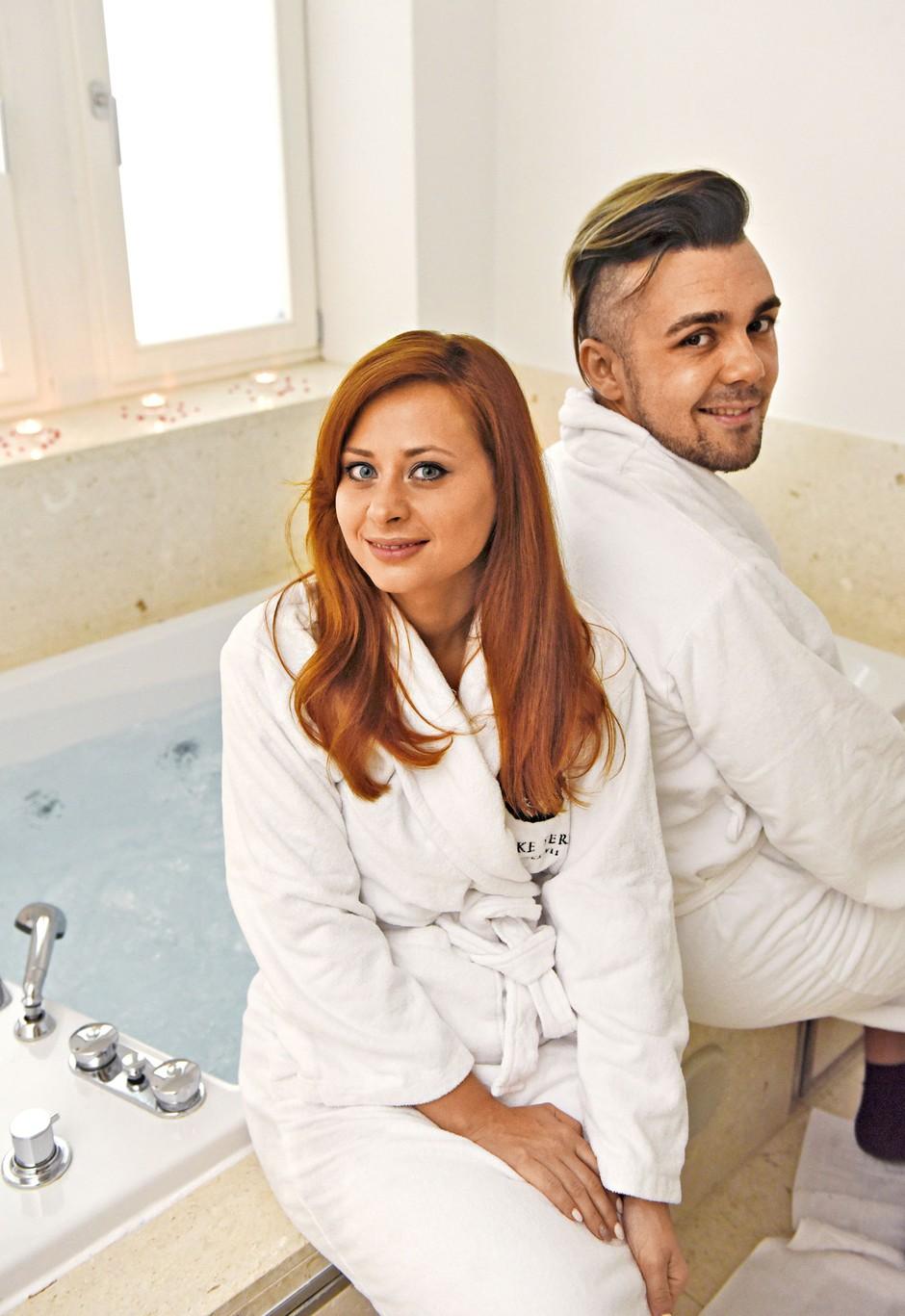 Marjetka in Raay razkrila recept za srečen zakon (foto: Igor Zaplatil)