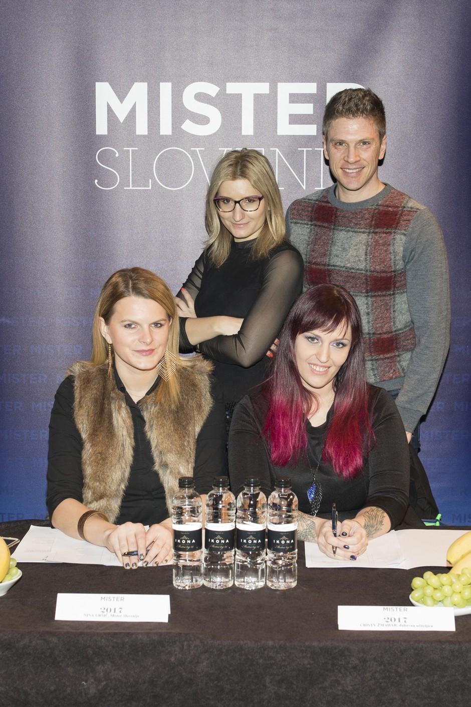 Mister Slovenije 2017: Komisija namučila postavne Slovence (foto: misterslovenia.com)