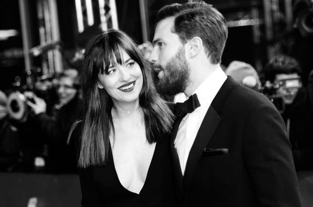 V vlogi Christiana in Ane sta nastopila Jamie Dornan in Dakota Johnson, ki sta svoje delo več kot odlično (mi ...