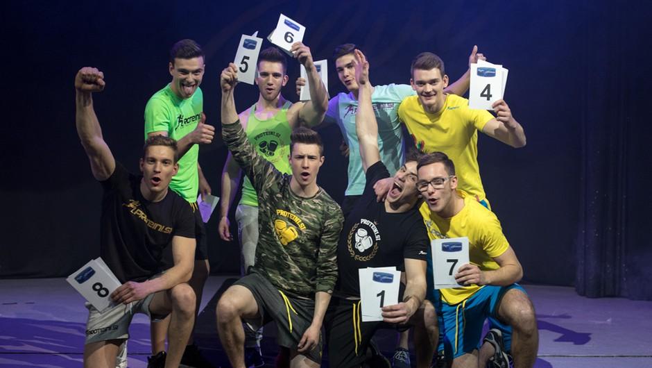 Mister Slovenije 2017: Dobili vročih 8 polfinalistov (foto: Luka Brataševec)