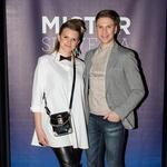 Organizatorja projekta Mister Slovenije Nina Uršič in Erik Ferfolja. (foto: Luka Brataševec)