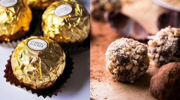 Zdrav recept: Ferrero Rocher brez peke! (foto: Profimedia)
