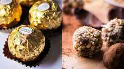 Zdrav recept: Ferrero Rocher brez peke!