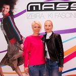 Zadovoljni Tina Petkovšek Pirc, direktorica marketinga Mass in Tjaša Tršar iz marketinga Mass (foto: Mass)