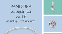 Kako do zapestnice Pandora že za 1 euro?