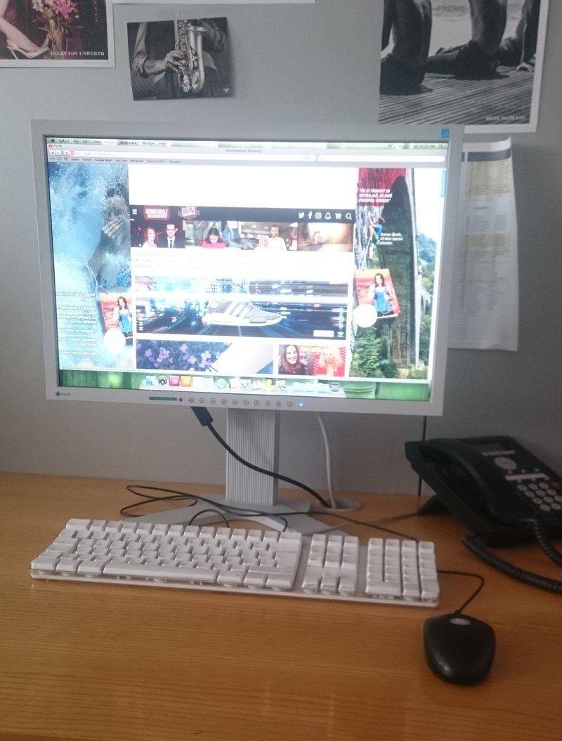 Moja delovna postaja :)