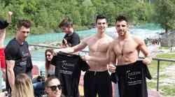Mister Slovenije 2017: Finalisti v družbi naših bralk na adrenalinskem doživetju (FOTO + VIDEO)