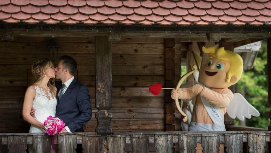 FOTO in VIDEO: Sanjska ona-on.com poroka Monike & Boruta je bila res sanjska! (foto: Jean Kanoyev Photography)
