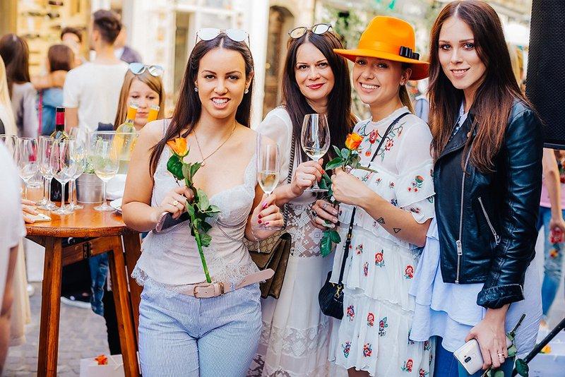 blogerke Lea Filipovic, Pika Zrim, Sara Zavernik, Eva Ahacevcic