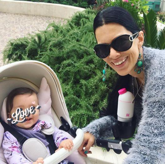 FOTO: Vau! Poglej, kako velika je že prvorojenka Iris Mulej (foto: Instagram @iris_mulej)