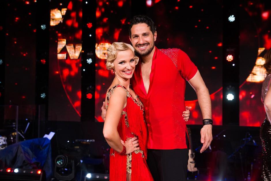 Jernej in Jagoda (Zvezde plešejo) spet skupaj zaplesala + izvedeli smo, da naj bi imel Čuk novo punco! (foto: Miro Majcen/POP TV)