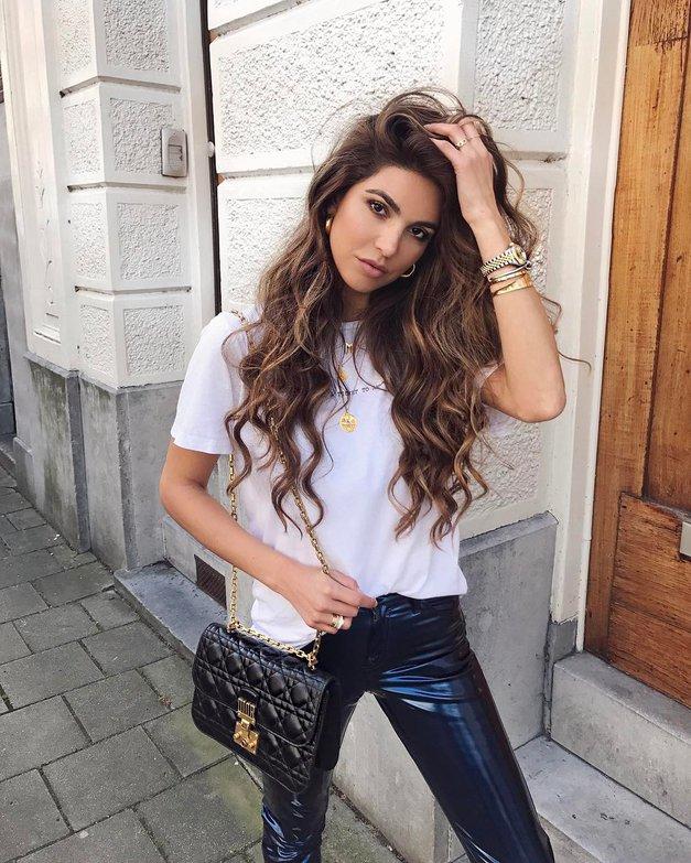 Želiš lepe in zdrave lase kot jih ima znana blogerka na tej fotografiji? Preizkusi TO! (foto: PrtSc Instagram.com/@negin_mirsalehi)