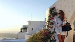 FOTO: Znane Slovenke, ki obožujejo sanjsko Grčijo