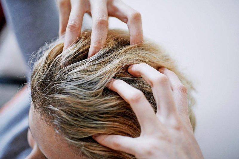 Masaža lasišča