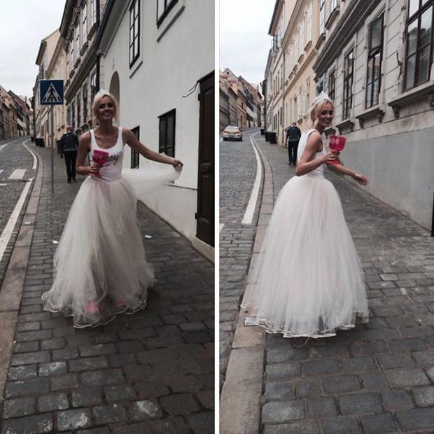 Skoraj vsaka nevesta želi doživeti vsaj en 'princeskast' trenutek z veliko in bogato krinolino ali obleko a-linije. Tjaša Kokalj je …