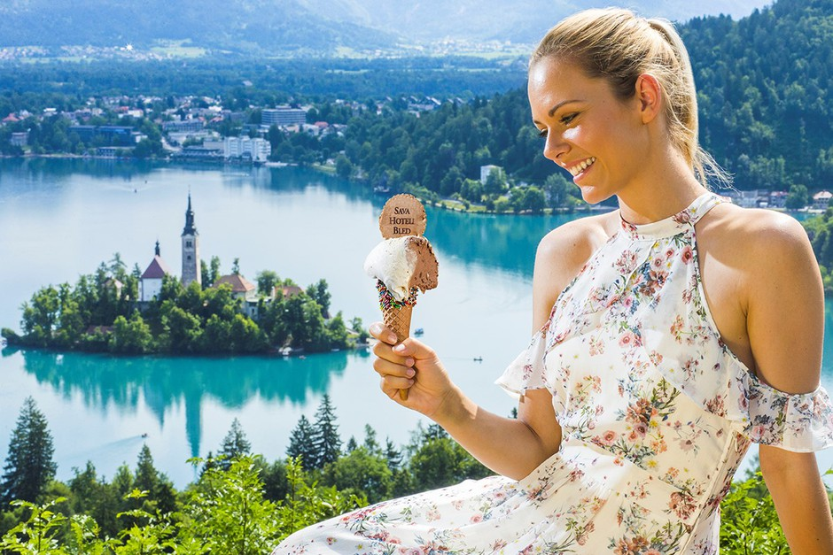 Bled s pomočjo Sladogleda izbran za najboljšo sladoledno destinacijo na svetu 2017! (foto: Promocijsko gradivo)