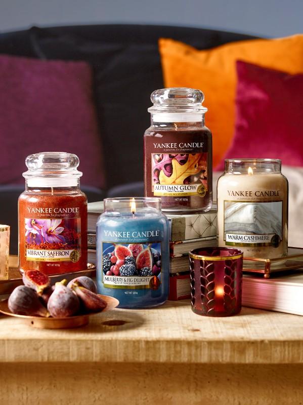 Yankee Candle predstavlja 4 nove dišave, s katerimi se boste zaljubili v jesen (foto: Yankee)