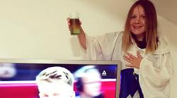 FOTO: Tako so za naše košarkarske prvake navijali znani Slovenci in Slovenke