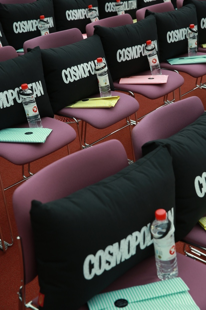 Obiskovalke Cosmo konference so pričakala darilca - tudi prikupne okrasne blazine Urh.