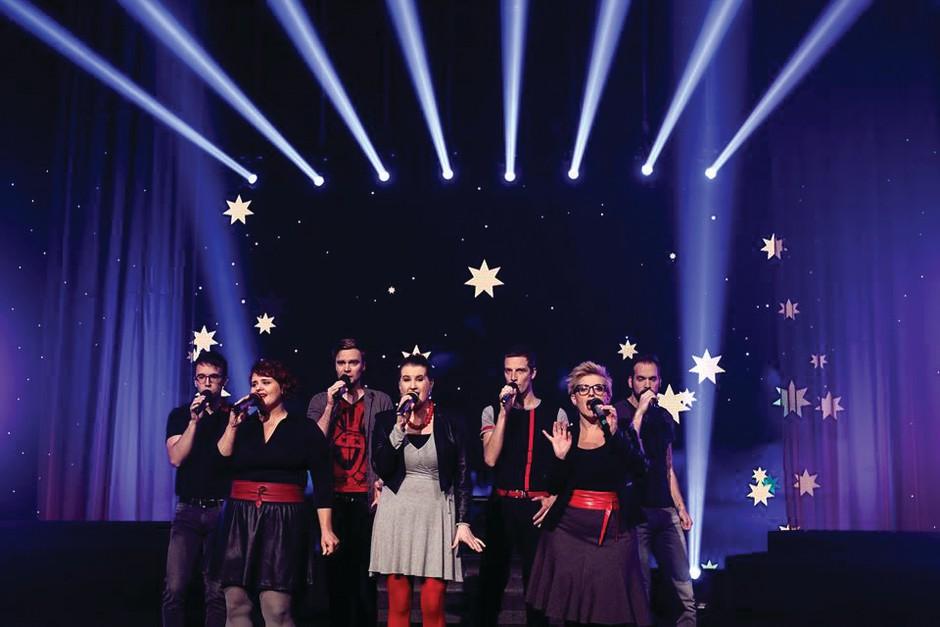 Že ta vikend! Popjazziada 2017 - festival a cappella glasbe (foto: promo gradivo/arhiv TRV)